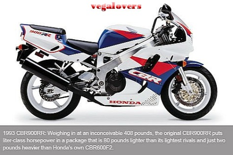 Honda CBR1000RR evolution 1