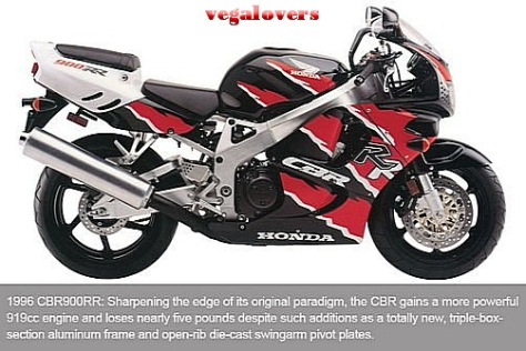 Honda CBR1000RR evolution 3