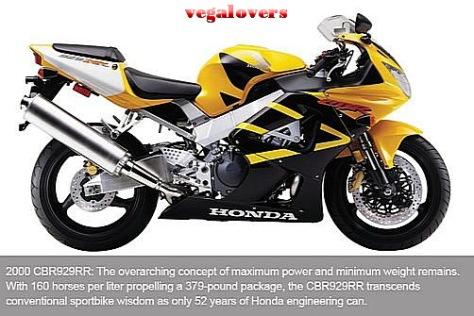 Honda CBR1000RR evolution 5