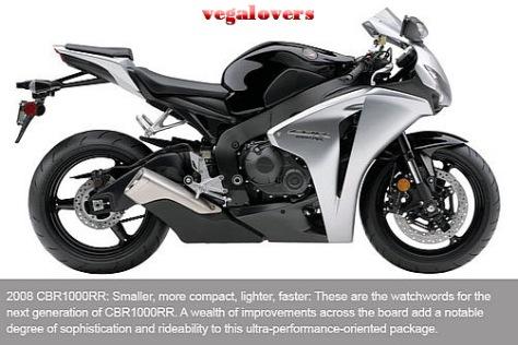 Honda CBR1000RR evolution 8