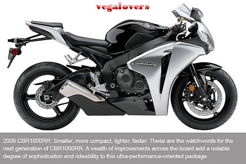 Honda CBR1000RR evolution 8