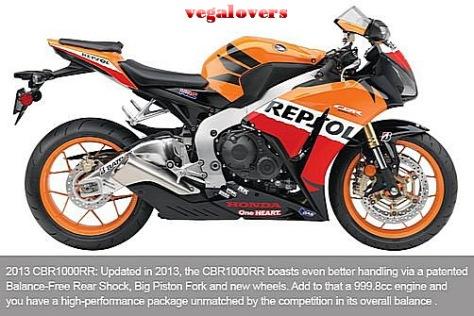 Honda CBR1000RR evolution 9