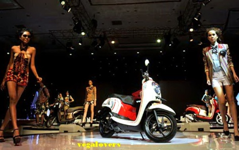 Peluncuran Honda Scoopy 2