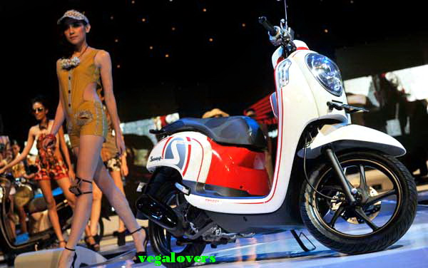 Peluncuran Honda Scoopy 3