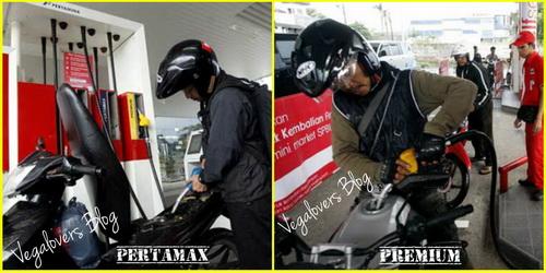 Pertamax vs Premium