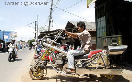 Modif Motor Bebek Jadi Harley Davidson Mantabz D Tegeanblog Com