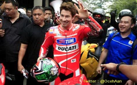 Nicky Hayden Jajal Jalanan di Jakarta 2
