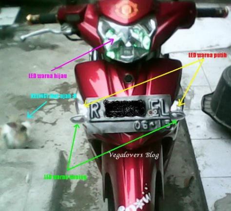 Modifikasi Vega ZR