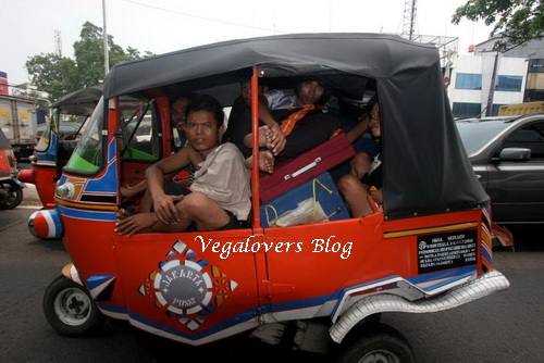 Mudik naik bajaj - vegalovers blog