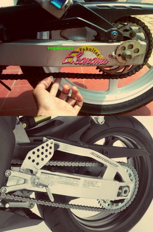 Cara Merawat Rantai Motor