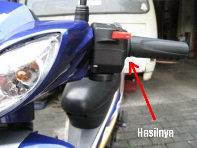 Modifikasi Lampu Dim Untuk Motor Bebek TegeanBlogCom