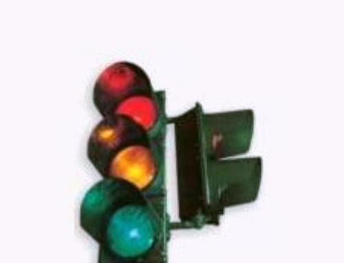 Lampu lalu lintas atau biasa disebut lampu merah