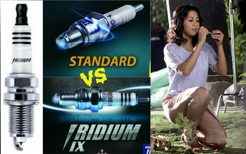 Busi standar vs Busi iridum