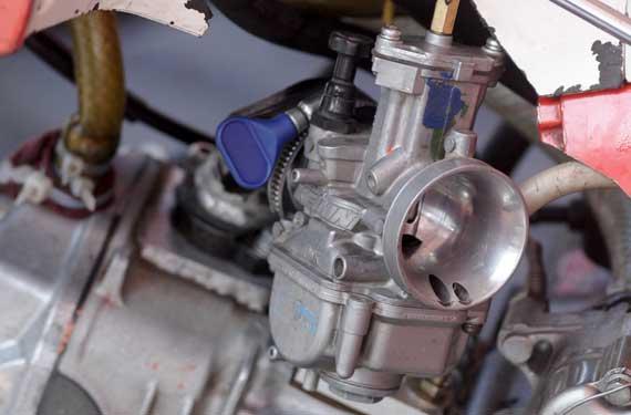 Karbu PWK 28 mm diseting basah