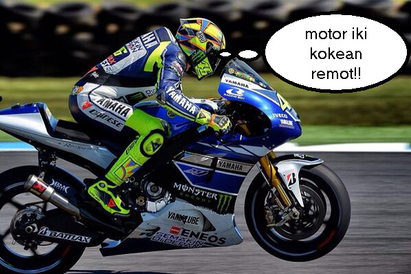 Kontroversi Hati Valentino Rossi