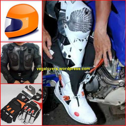 Ridding pake Safety Gear, Selain aman juga nambah keren lho
