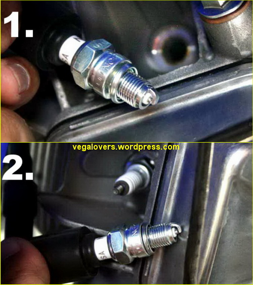 Tips Cek Busi Di Motor Injeksi Tegeanblog Com