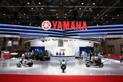 tokyo motorcycle show 2013 boot yamaha