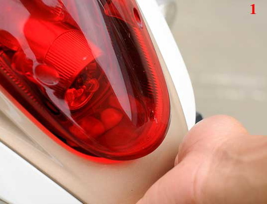 Cara Mengganti lampu belakang honda scoopy