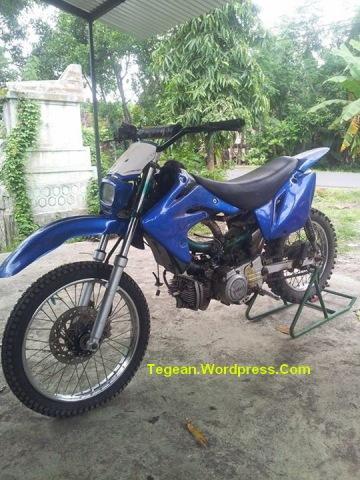 Modif Motor Bebek Jadi Motor Trail Tegeanblog Com
