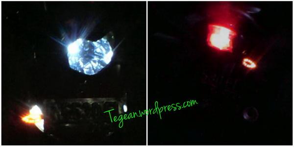Pasang Lampu Sein LED pada motor Bebek