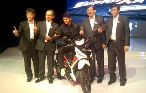 Launching Honda New Supra X 125 FI
