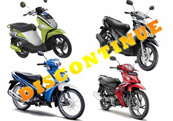7 Model Motor Suzuki Stop Produksi