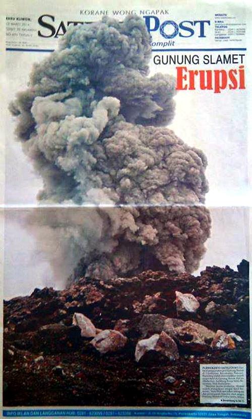 erupsi gunung slamet