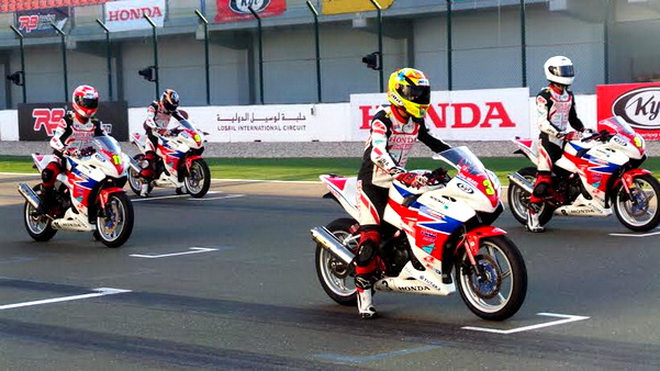 Astra Honda Racing Team (AHRT) siap turun di kelas 600cc