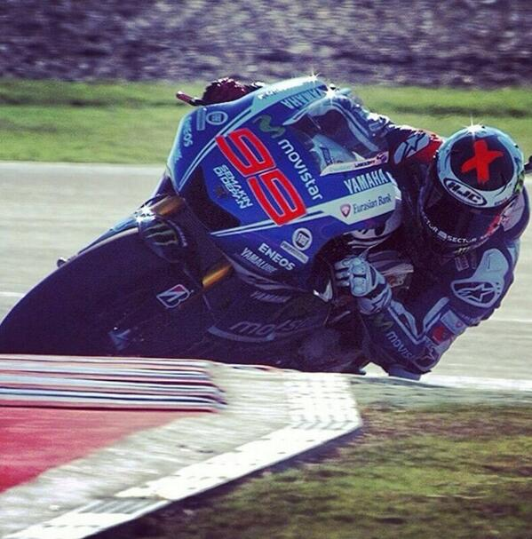 Jorge Lorenzo 2nd Position