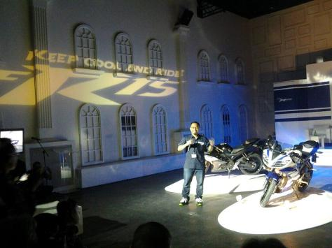 launching Yamaha R15 sudah dimulai