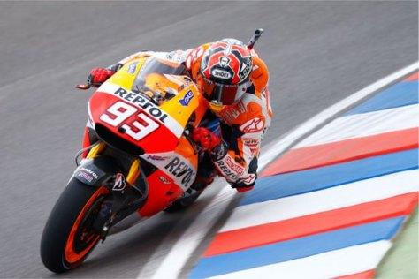 Marquez Rajai FP2 MotoGP Argentina