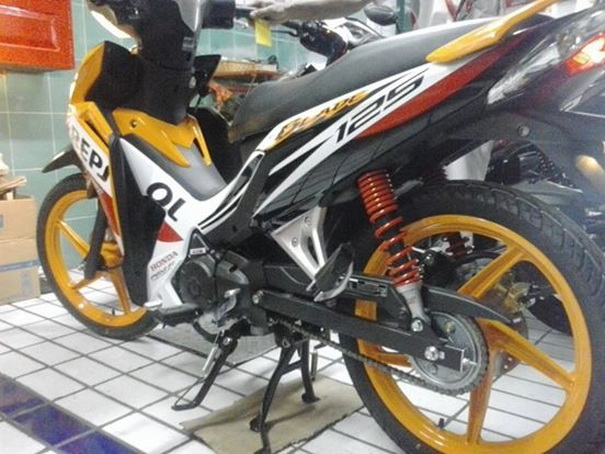 Modifikasi Honda Blade 125FI 2014