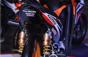 Modifikasi Honda Blade 125FI serasa RCV213V_2