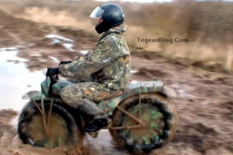 motor rakitan tentara rusia