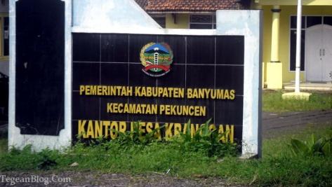 Desa Kranggan, kecamatan pekuncen, kabupaten banyumas