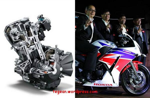 Ini dia perubahan mesin New Honda CBR250R