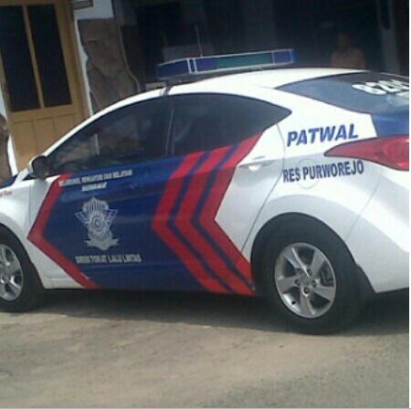 Mobil Patwal polres purworejo