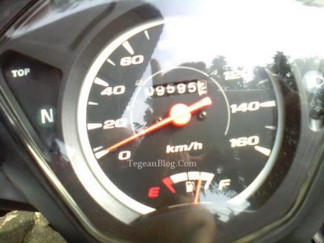 motor tanpa indikator gigi