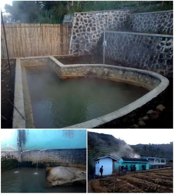 pemandian air panas Kaliputih, DesaTempuran, Wanayasa