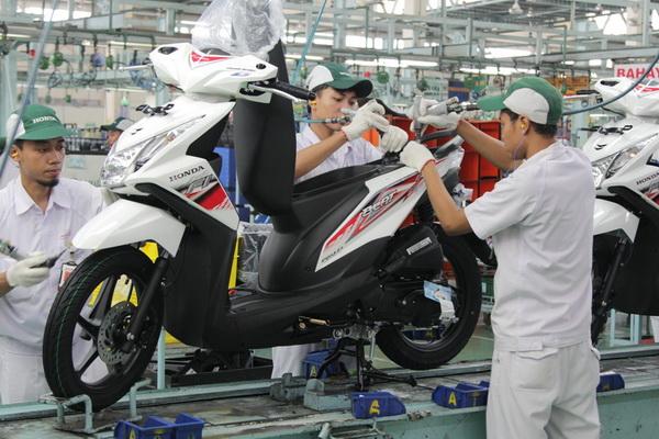 Tampilan baru Honda Beat FI lebih atraktif dan stylish