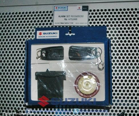 Harga Part Alarm New Satria Black Fire II