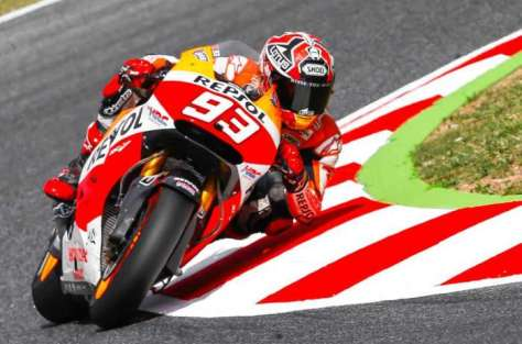 Marc Marquez - Sirkuit Catalunya, Spanyol