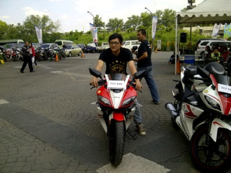 Test Ride Minerva RX-150