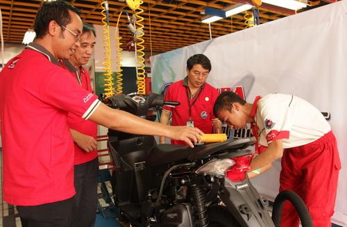 uji kompetensi teknik sepeda motor