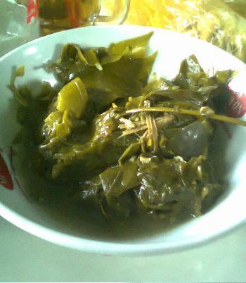 Untingan so untuk penambah selera pada hidangan soto so