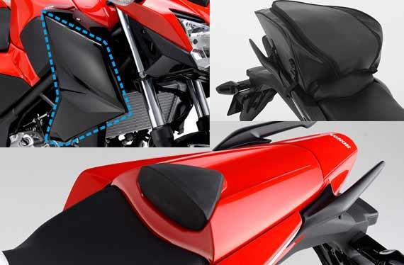 Aksesoris Resmi Honda CB250F 2