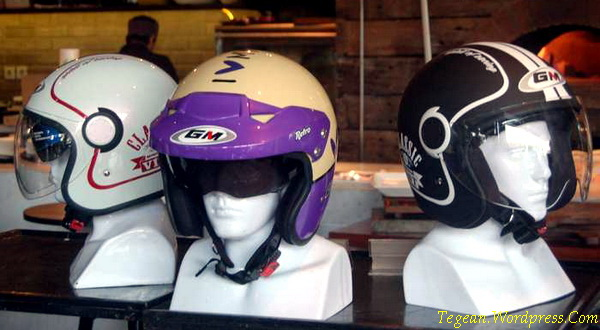 helm model klasik GM Retro dan GM Vint