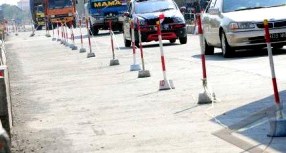 Perbaikan jalur mudik Karawang, Plawad hingga Telagasari