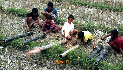 petasan bambu